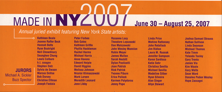 June 30- August 25 2007