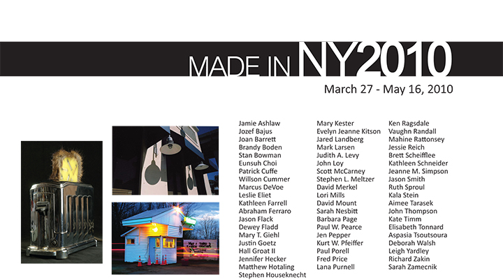 Made In NY 2010 Exhibition