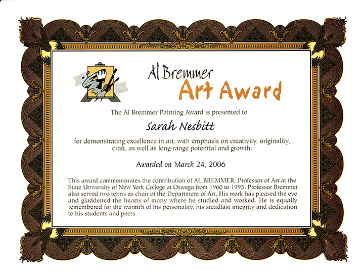 Al Bremmer Art Award